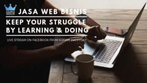 Facebook Page Ilham Shogir akan berganti menjadi Jasa Web Bisnis
